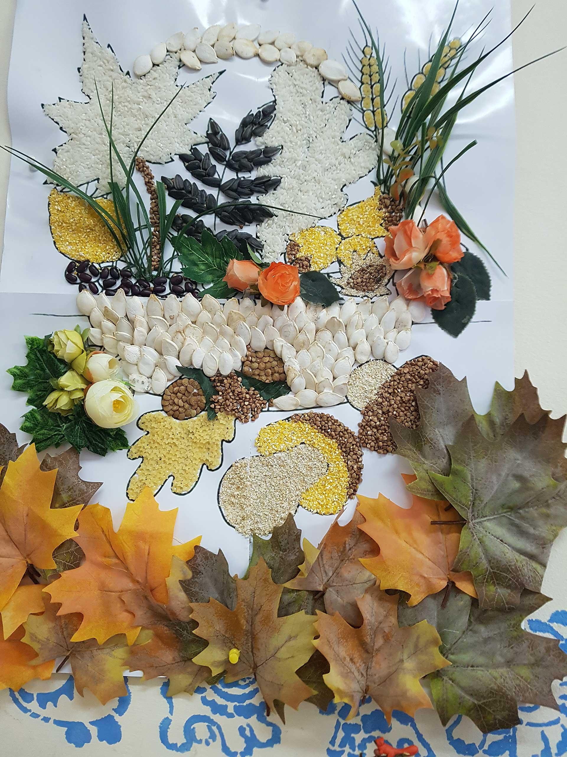 Дары осени необычные поделки